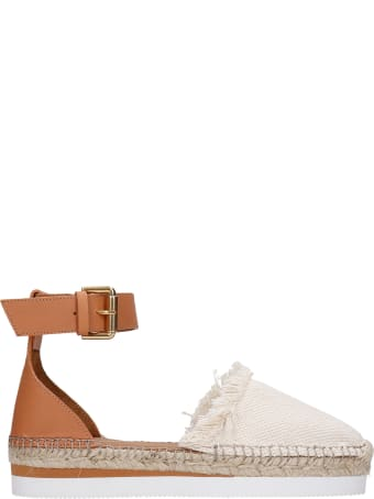 See by Chloé Glyn Espadrilles In Leather Color Leather And Fabric