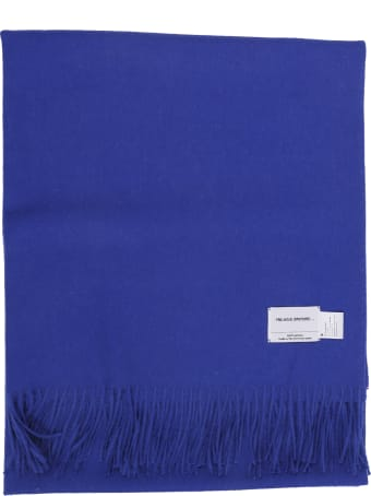 The Inoue Brothers Blue Large Brushed Stole