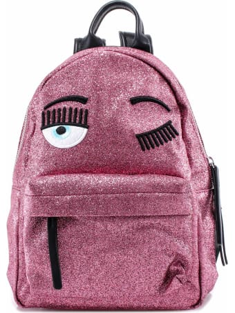 Chiara Ferragni Backpack Flirting Glitter Small