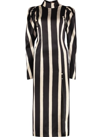 Rotate by Birger Christensen Theresa Printed Maxi Dress