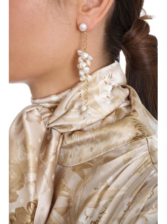 Magda Butrym Snapdragon Jewelry In Gold Pvc