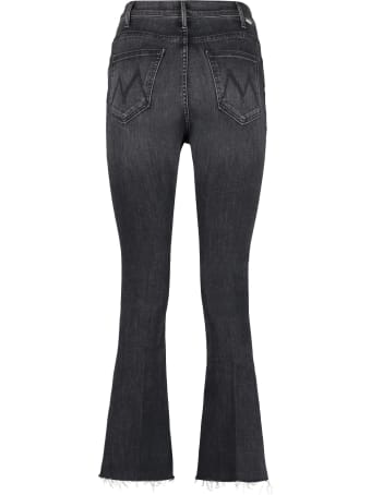 Mother The Hustler Ankle Fray Cropped-fit Jeans