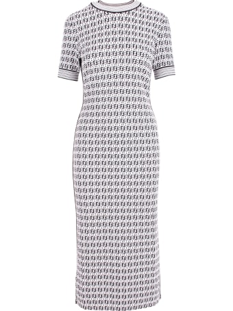 Fendi 'ff Motiv' Viscose Dress