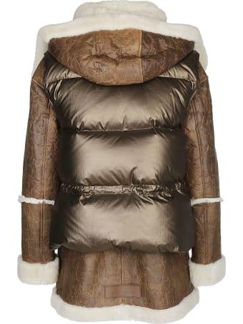 Nicole Benisti Hybrid Padded Jacket