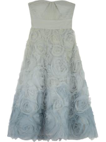 Marchesa Notte Gradient Tulle Gown