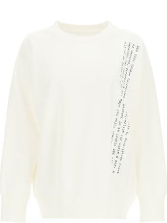 MM6 Maison Margiela Printed Crewneck Sweatshirt