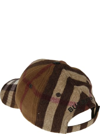 Burberry Checked Baseball Cap