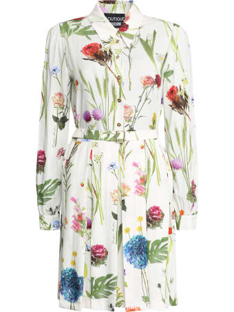 Boutique Moschino Printed Shirtdress