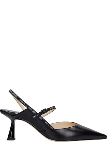 Jimmy Choo Ray 65 Pumps In Black Leather