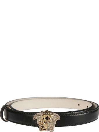 Versace Medusa Logo Buckle Belt