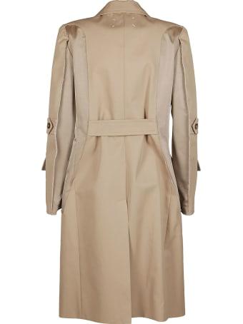 Maison Margiela Beige Cotton Trench Coat