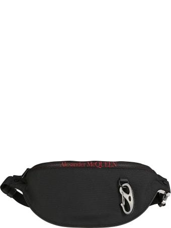 Alexander McQueen Black Belt Bag