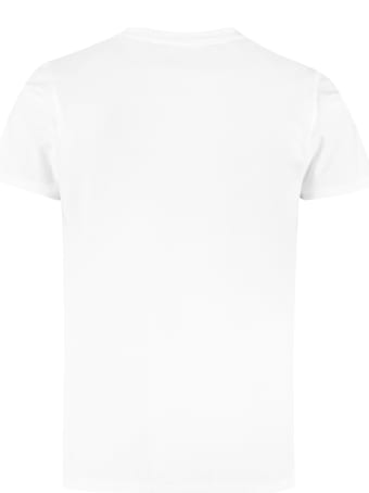 Helmut Lang Printed Cotton T-shirt