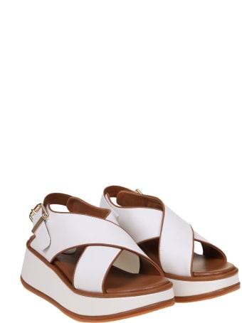 181 Alberto Gozzi 181 Sandal In White Leather