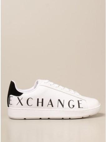 Armani Collezioni Armani Exchange Sneakers Armani Exchange Sneakers In Canvas