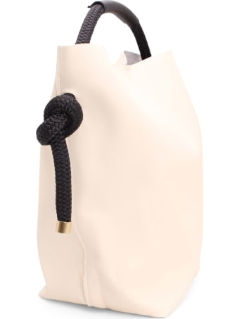 Zucca Recycled Leather Bucket Bag