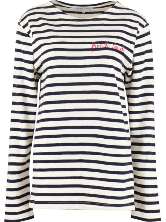 Maison Labiche Striped Cotton Sweater