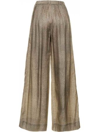 Borbonese Borbonese Wide Pants With Op Pattern