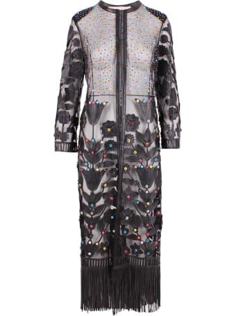 Caban Romantic Leather Jacket