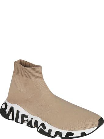 Balenciaga Logo Sole Sock Sneakers