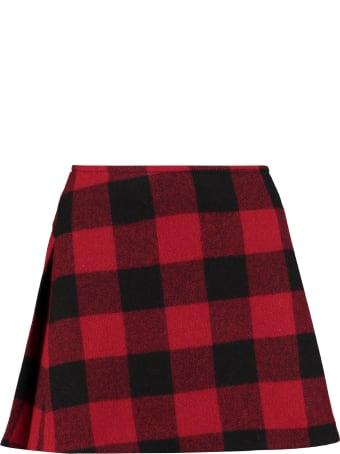 Dsquared2 Canadian Wool Mini Skirt
