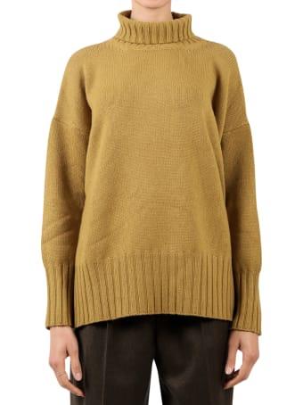 Massimo Alba Mustard Cara Sweater