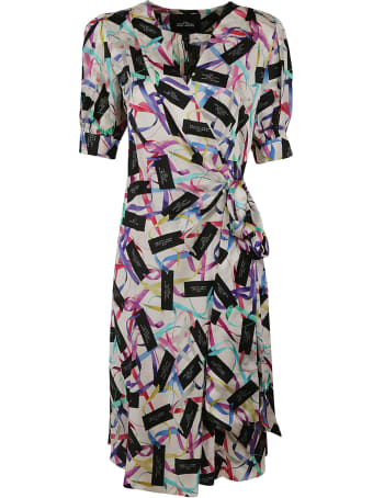 Marc Jacobs Logo All-over Dress