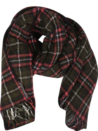 Y's Checked Scarf