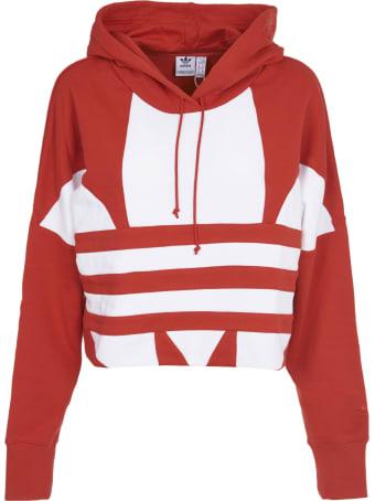 Adidas Originals Red Hoodie