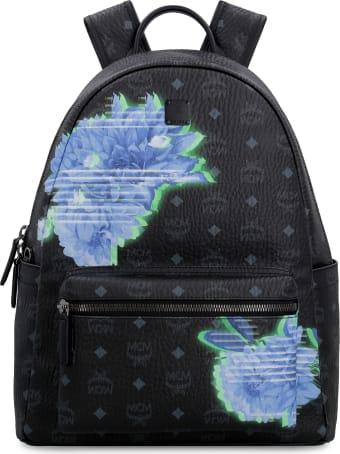 MCM Stark Tech Flower Visetos Backpack