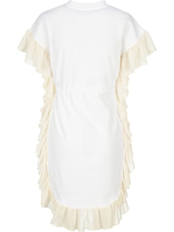 See by Chloé See By Chloe' Ruffled Drawstring-waist Dress