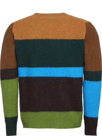 Drumohr Striped Wool Pullover