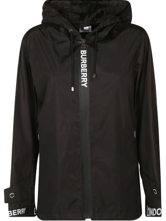 Burberry Logo Panel Windbreaker