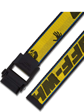 Off-White Hybrid Industrial Belt With Logo