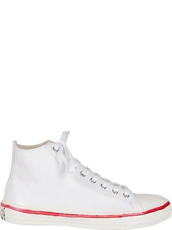 Marni White Leather Sneakers