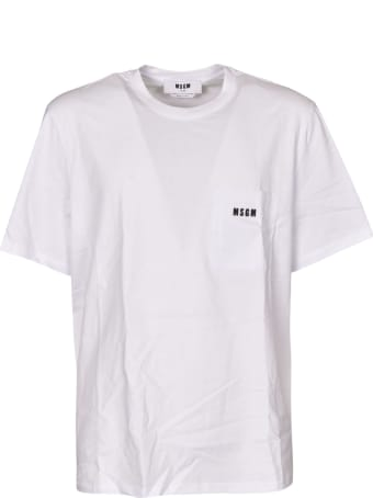 MSGM Logo Patch Pocket T-shirt