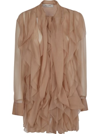 Valentino Ruffled Blouse