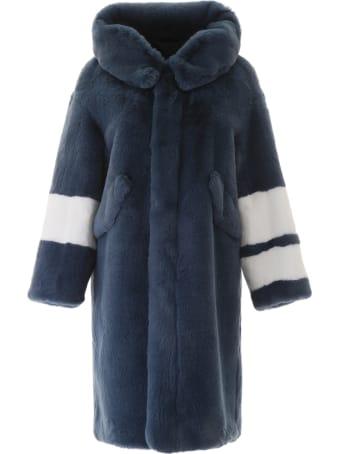 Mr & Mrs Italy Faux Fur Coat
