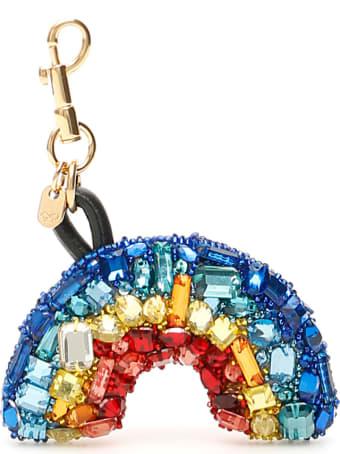 Anya Hindmarch Crystal Rainbow Charm