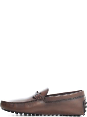 Tod's Double T Flat Loafers