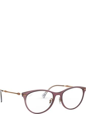 Ray-Ban Ray-ban Rx7160 Demi Gloss Burgundy Glasses