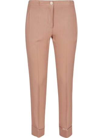 SEMICOUTURE Slim-fit Cropped Trousers
