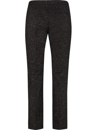 Alexander McQueen Wool-mohair Blend Tailored Trousers