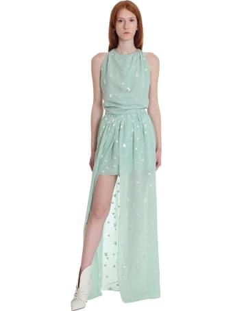 AMIRI Dress In Green Silk