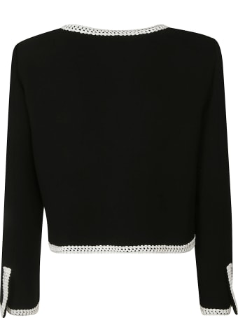 Moschino Side Flap Pocket Detailed Jacket