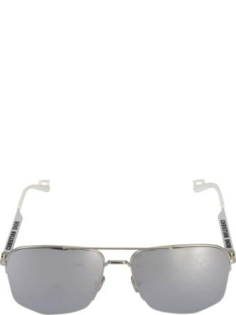 Dior Homme Side Logo Detail Sunglasses