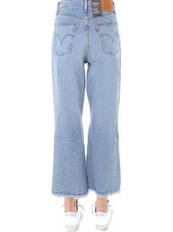 Levi's Ribcage Cropped Flare Jeans