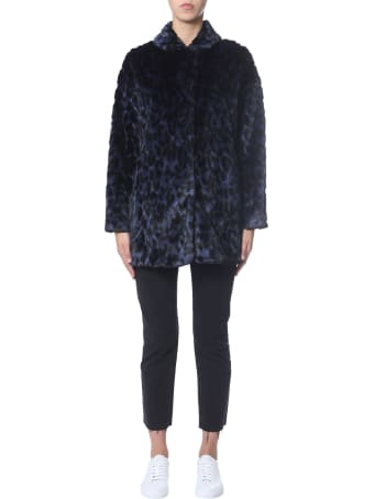 PS by Paul Smith Coat With Leopard Pattern