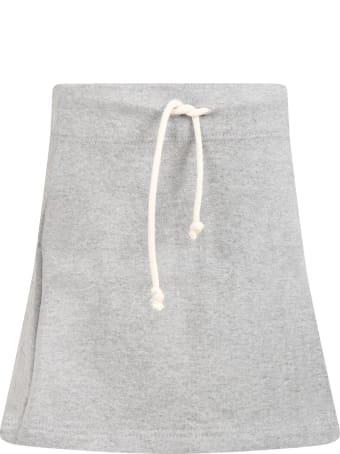 Raquette Grey Skirt For Girl