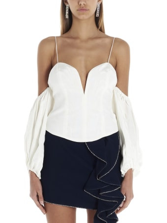 For Love & Lemons 'celeste Moire' Top